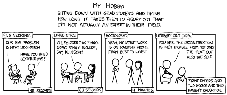 Image credit: xkcd